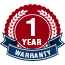 1 Year Warranty for All Work